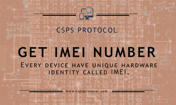 how to get imei number