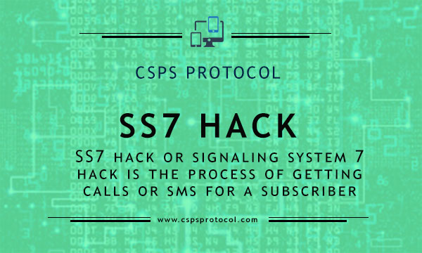 SS7 Hack or Ss7 Attack- Receive SMS and Calls for another number