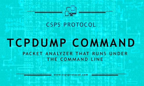 tcpdump command