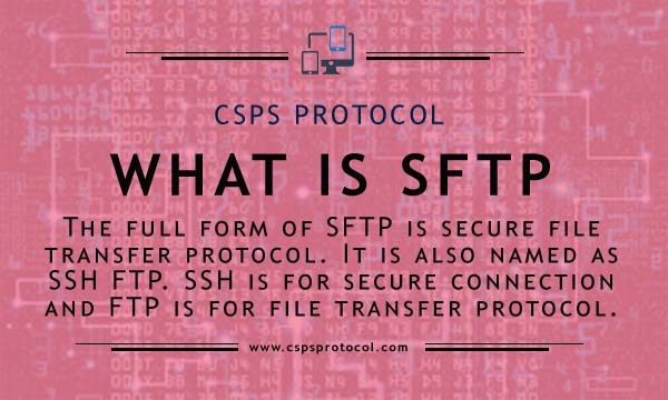 what is sftp