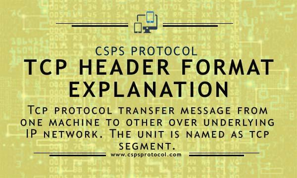 tcp header format explanation