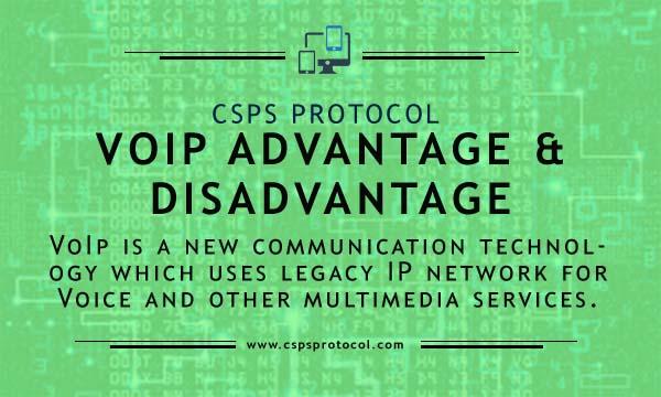 voip advantages and disadvantages