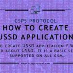 How to create ussd application