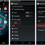 How to change apn settings on android